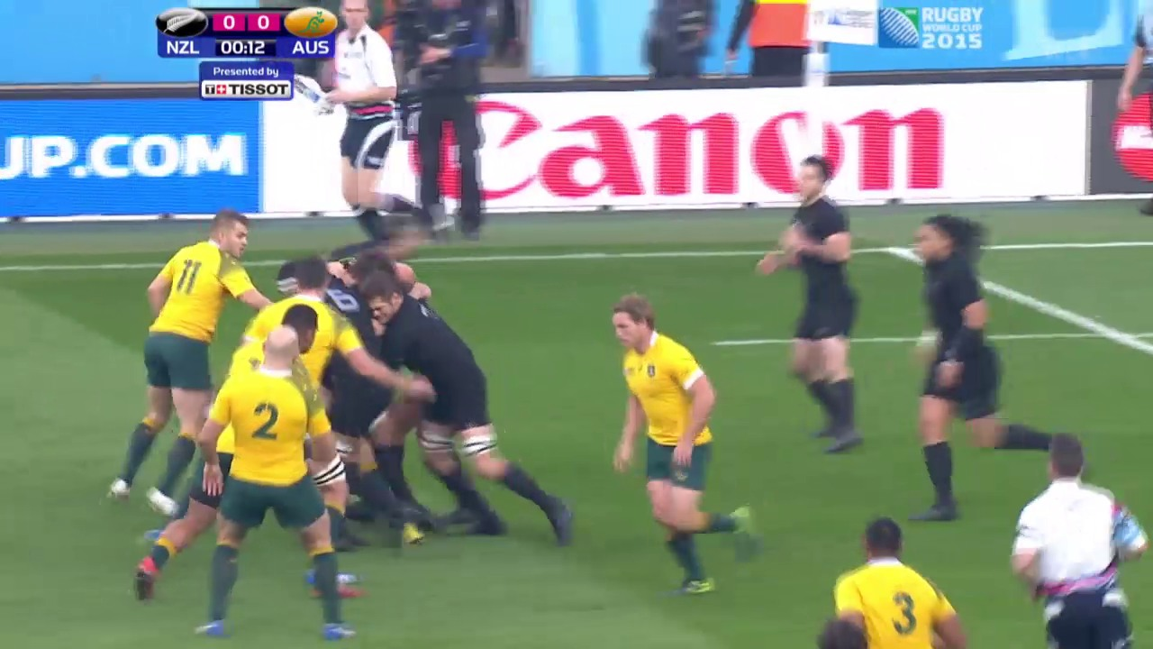 Rugby: WM-Final Neuseeland-Australien