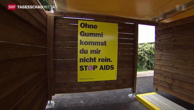 Video «Stadt Zürich lobt «Sexboxen»» abspielen