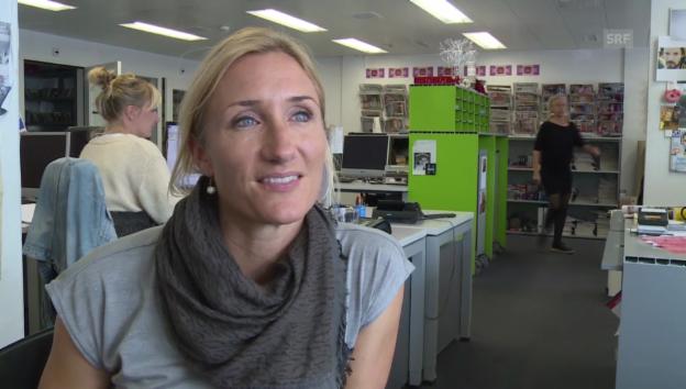 Video «Tanja Frieden über ihren ersten «g&g»-Einsatz» abspielen