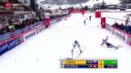 Video «Langlauf: Weltcup in Toblach, Männer 15km klassisch» abspielen