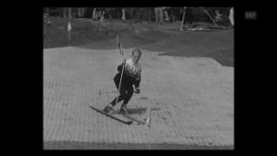 Video «Künstliche Skipiste (1964)» abspielen