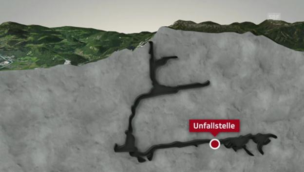 Video «So sieht die Höhle aus (unkommentiert).» abspielen