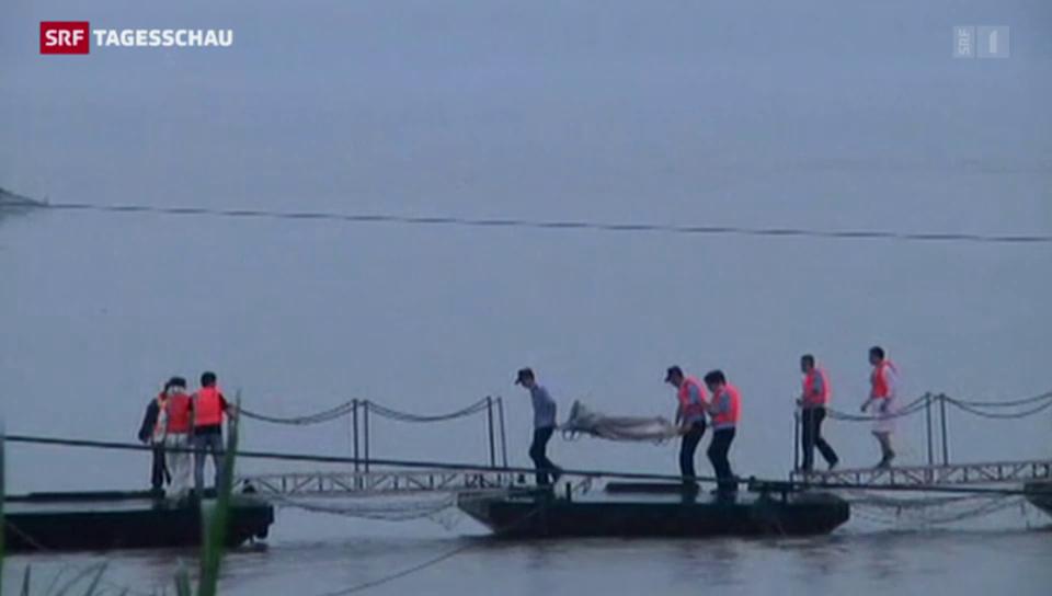Hunderte Vermisste in China