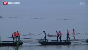 Video «Hunderte Vermisste in China» abspielen