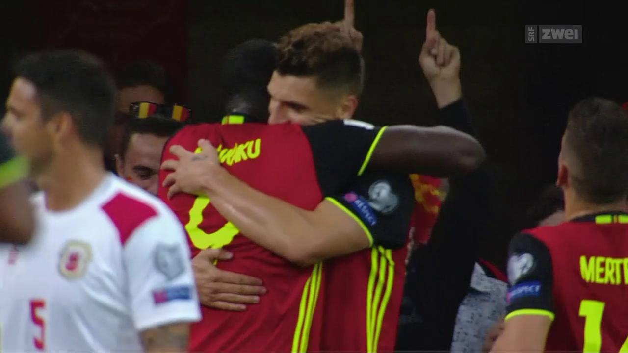 Belgien mit viel Talent und grossen Ambitionen