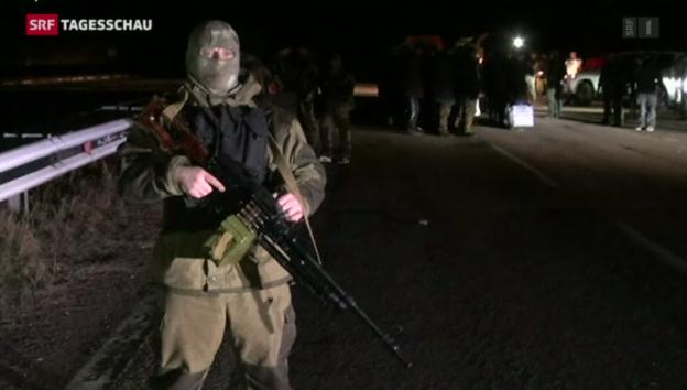 Video «Gefangenenaustausch Ukraine» abspielen