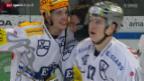 Video «Eishockey: NLA, Lausanne - Zug» abspielen