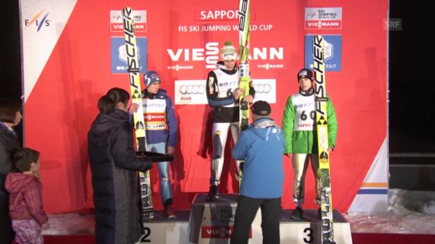 Video «Skispringen: Die Entscheidung in Sapporo» abspielen