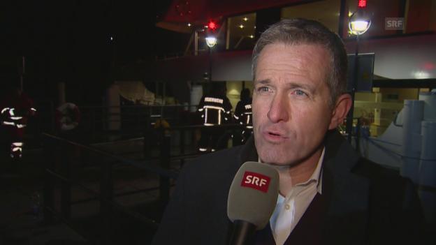 Video «Stefan Schulthess, Direktor SGV: «Schlechte Nachricht»» abspielen