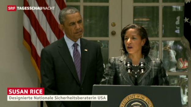 Video «Rice wird Obamas Top-Sicherheitsberaterin» abspielen