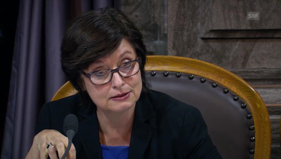 Anita Fetz (SP/BS) will das Gesetz nur mit Einschränkungen