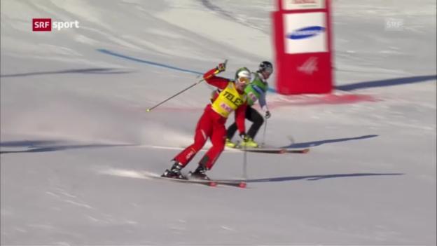 Video «Alex Fiva gewinnt Gesamtweltcup («sportpanorama»)» abspielen