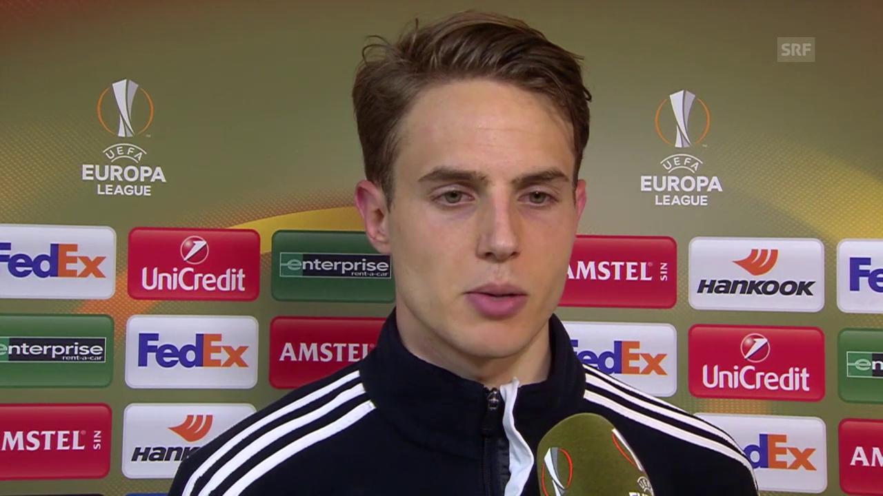 FCB-Verteidiger Daniel Hoegh im Interview