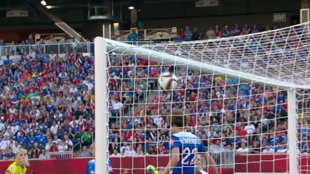 Video «Fussball: Frauen-WM, Zusammenfassung Schweden - USA» abspielen