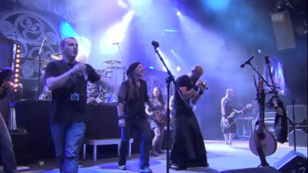Video «Eluveitie feat. Manau - Inis Mona» abspielen