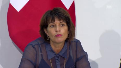 Video «Bundesrätin Leuthard über das Nein zur Grünen Wirtschaft» abspielen