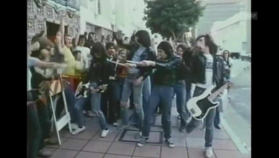 Ramones; Videoausschnitt von 1979