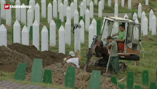 Niederlande muss Srebrenica-Opfer entschädigen