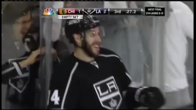 Video «Eishockey: Die Tore bei L.A. Kings - Chicago Blackhawks» abspielen