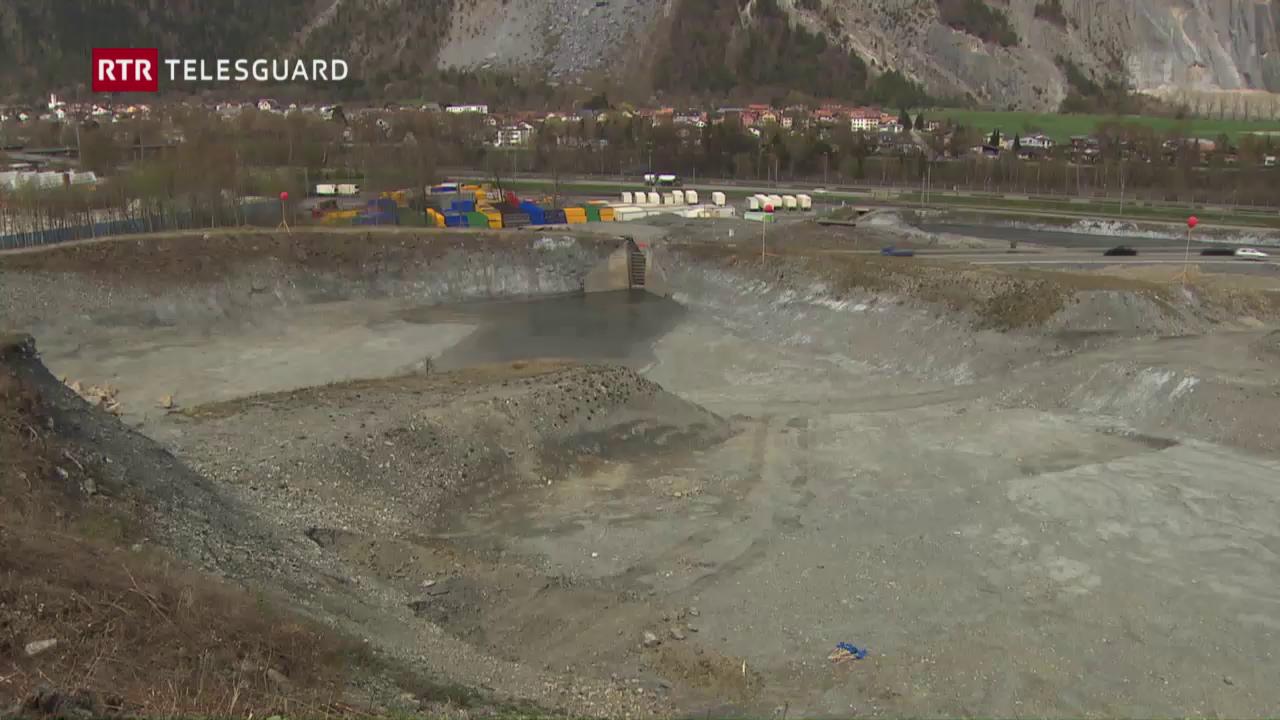Emprima badigliada per segirar la Val Parghera