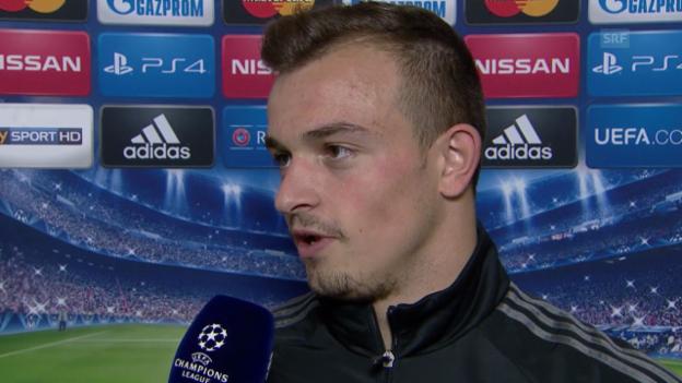 Video «Fussball: Interview mit Xherdan Shaqiri» abspielen