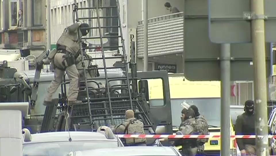 Belgien: Polizei führt Täter ab