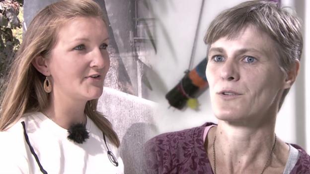 Video «Ebola - Was zwei Schweizer Helferinnen vor Ort erlebten» abspielen