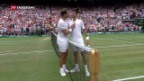 Video «Wimbledon: Djokovic im Herren-Final» abspielen