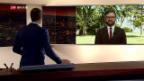 Video «Live-Schaltung nach Washington» abspielen