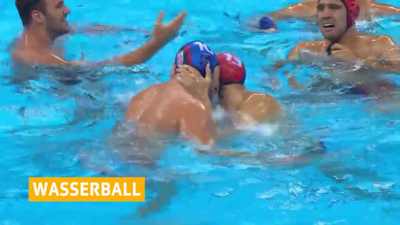 Serbien badet im Glück