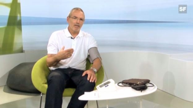 Video «Dr. Kissling: So messen Sie Ihren Blutdruck richtig» abspielen