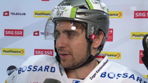Video «Eishockey: NLA, Davos - Zug, Stimmen zum Spiel» abspielen