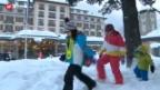 Video «Schneechaos in der Schweiz» abspielen