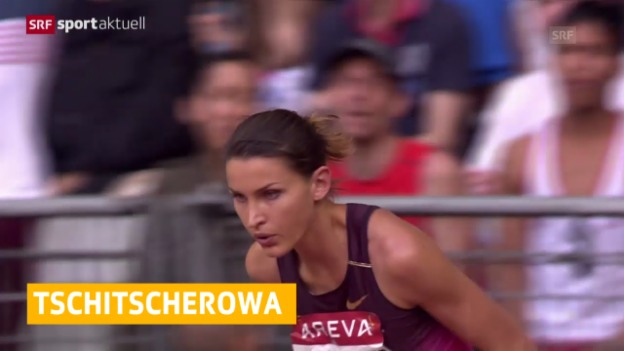 Video «LA: Tschitscherowa verpasst EM in Zürich» abspielen
