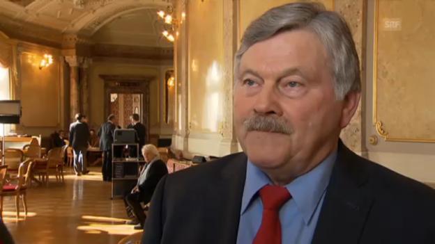 Video «Reform des Ständemehrs? Kritik und Zustimmung in Bern» abspielen