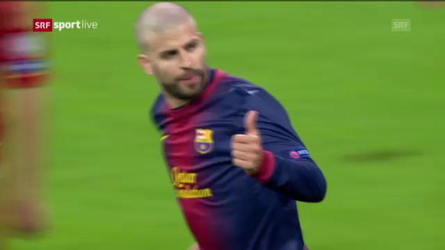 CL: Vor dem Halbfinal-Rückspiel Barcelona - Bayern