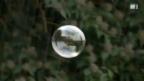 Video «Warum zerplatzen Seifenblasen im Regen nicht?» abspielen