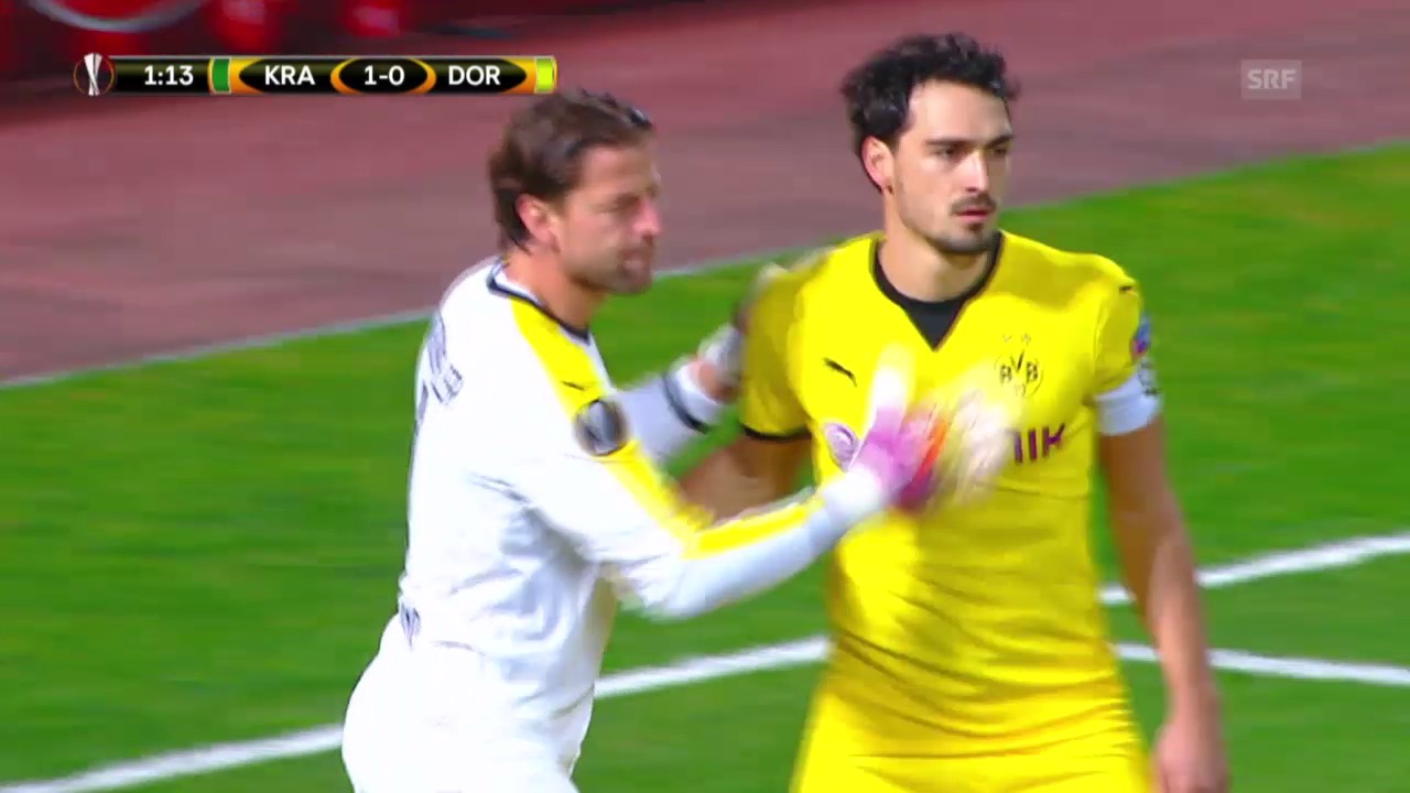 Fussball: Europa League, Krasnodar – Dortmund