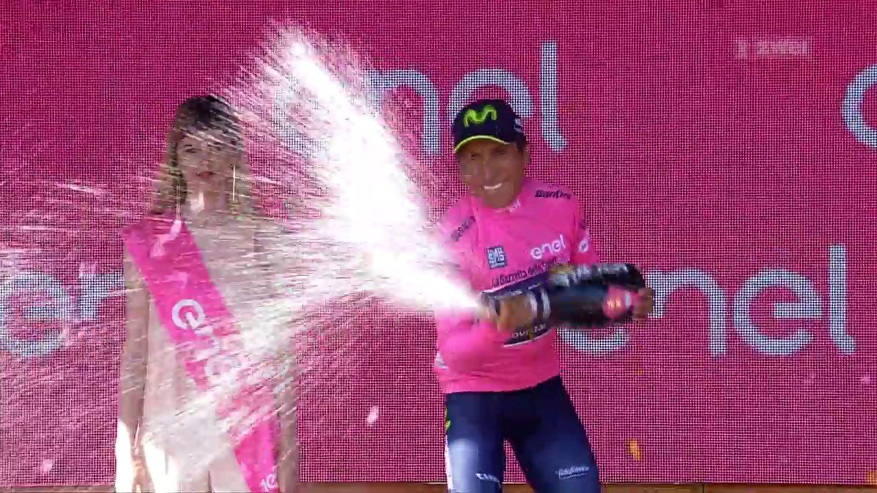 Quintana fährt wieder in rosa