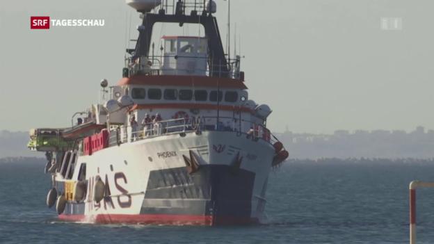 Video «EU will Italien und Griechenland nicht alleine lassen» abspielen