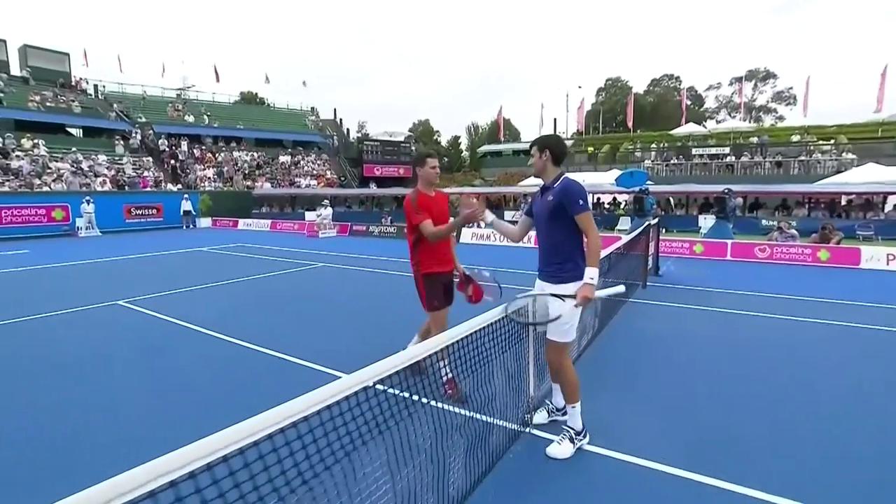 Djokovic mit Comeback nach Mass bei «Kooyong Classic»