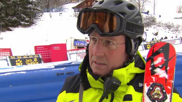 Video «Wengen: Interview mit OK-Präsident Näpfli» abspielen