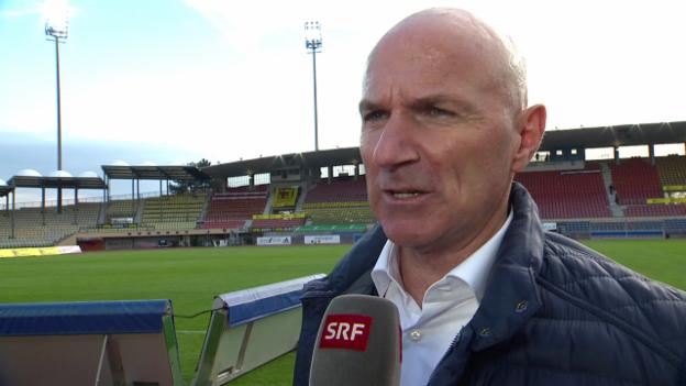 Video «Bernegger: «Wir sind heute als Mannschaft aufgetreten»» abspielen