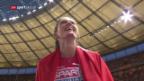 Video «Sprunger wird Europameisterin, Büchel verpasst Medaillen» abspielen