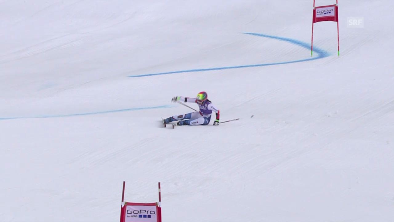 Ski: Riesenslalom Frauen, Dominique Gisin out