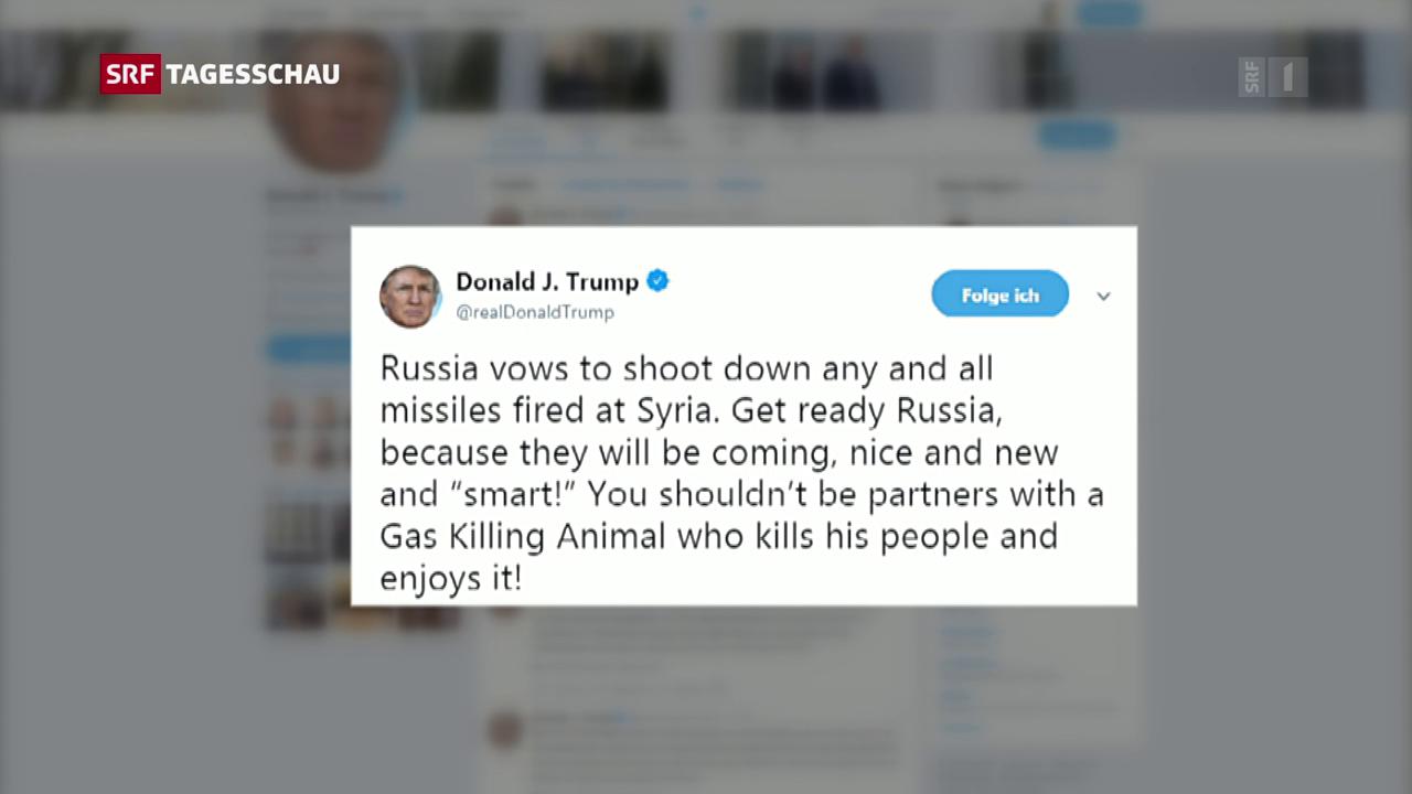 Trump: «Die Raketen werden kommen»