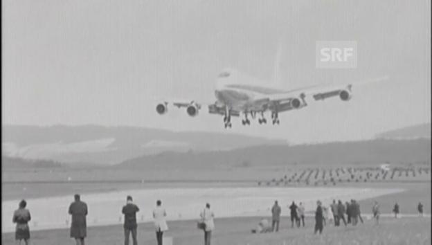Video «1970: Erstmals landet Jumbo in der Schweiz» abspielen