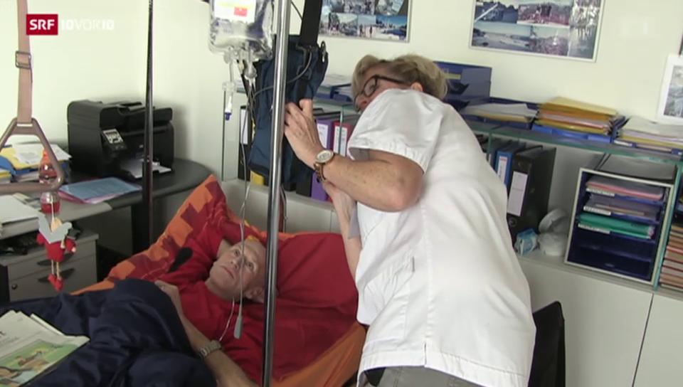 Palliative Care – auf Hausbesuch mit Pflegerin