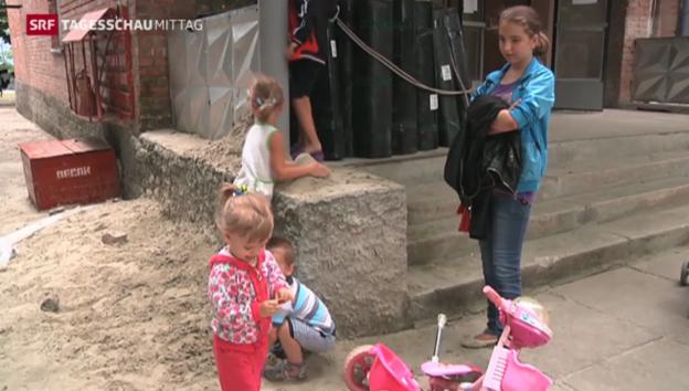 Video «Flucht aus der Ukraine» abspielen