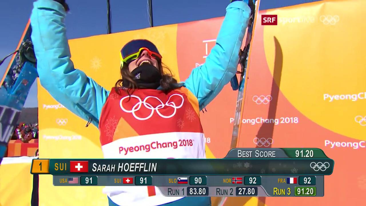 Sarah Höfflins Gold-Run